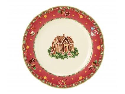 Seltmann Weiden Marie-Luise Weihnachtsnostalgie Dezertní talíř 20 cm