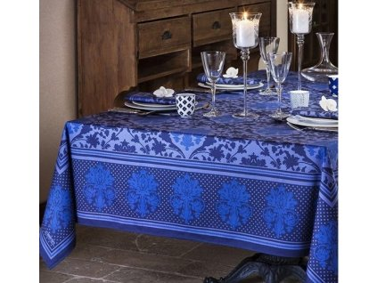Beauvillé TOSCANE modrý ubrus