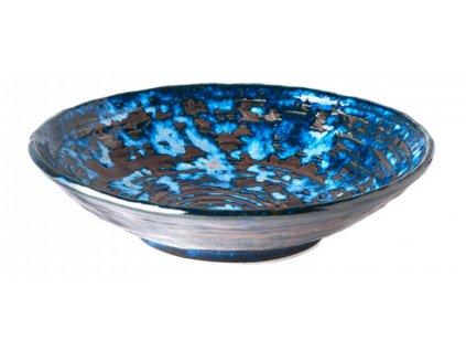 Made In Japan Copper Swirl Hluboký talíř 24 cm