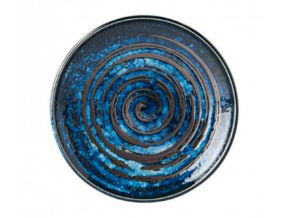 Made In Japan Copper Swirl Pečivový talíř 17 cm