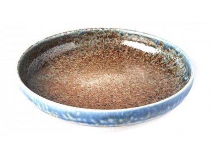 Made In Japan Earth & Sky Dezertní talíř s vysokým okrajem 22 cm