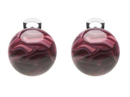 O154COL #BallsMania by MirtaBijoux ColorsBalls Bordeaux