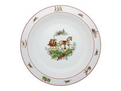 Vista Alegre CHRISTMAS MAGIC Hluboký talíř