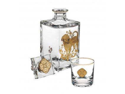 0032424 es golden est frasco e 2 copos cao