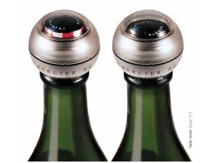 Atelier du Vin Zátka na šampaňské víno s indikátorem bublin