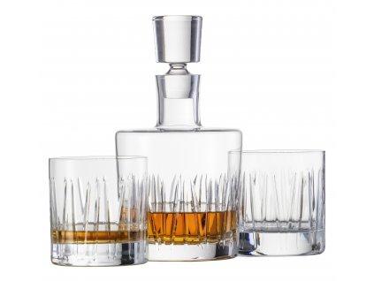 BASIC BAR MOTION by Charles Schumann Sada karafa + 2 sklenice na whisky Schott Zwiesel