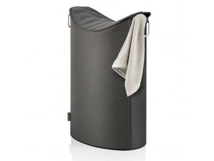 Blomus FRISCO tmavě šedý koš na prádlo
