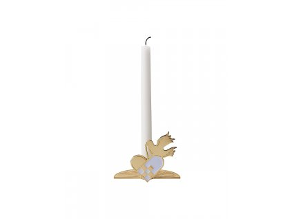 NEWS OL 10501 While Waiting candle holder dove