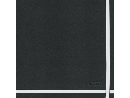 Beauvillé Bicolore šedý ubrousek 52x52 cm