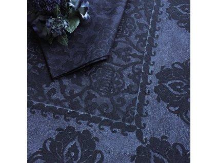 Beauvillé GRAND SOIR modrý ubrus
