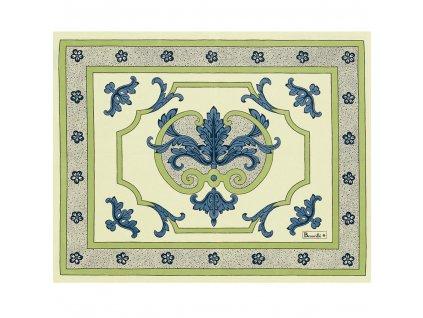 Trianon modrá prostírka 40x50 cm, Beauvillé