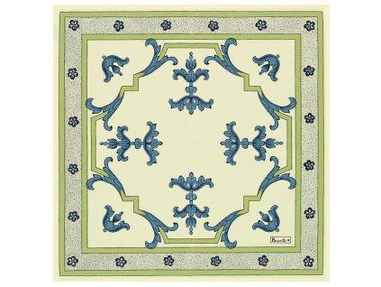 Beauvillé Trianon modrý ubrousek 52x52 cm