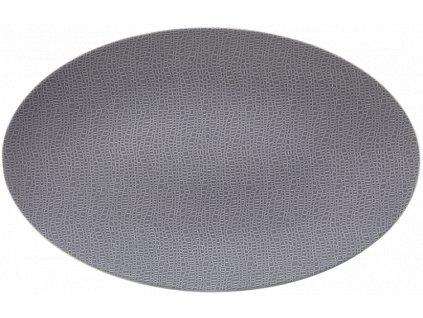 Fashion Elegant Grey Oválný podnos 40x26 cm, Seltmann Weiden
