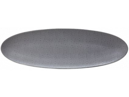 Fashion Elegant Grey Oválný podnos 44x14 cm, Seltmann Weiden