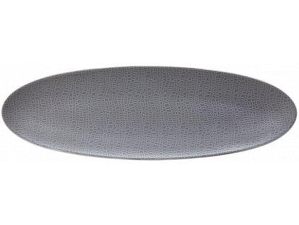 Seltmann Weiden Fashion Elegant Grey Oválný podnos 44x14 cm
