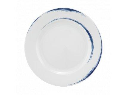 Seltmann Weiden Paso Blue Brush Kulatý pečivový talíř 20 cm