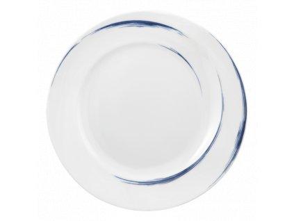 Seltmann Weiden Paso Blue Brush Kulatý dezertní talíř 23 cm