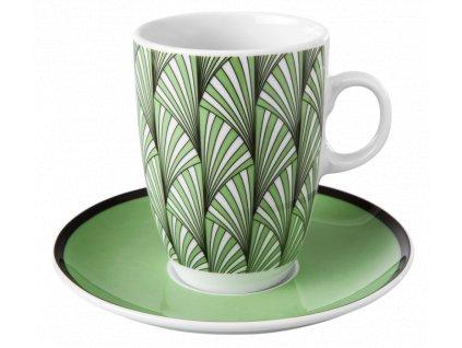 Samba Šálek na bílou kávu 0.37 ltr. a podšálek 15.9 cm, Seltmann Weiden