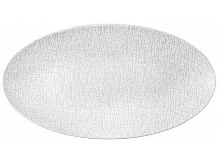 Seltmann Weiden Fashion Luxury White Oválný podnos 33x18 cm