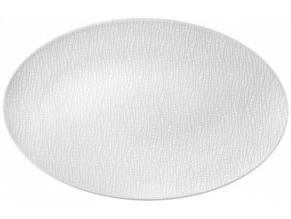 Seltmann Weiden Fashion Luxury White Oválný podnos 40x26 cm