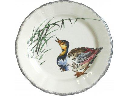 0113CP19 Assiette plate CANARDS