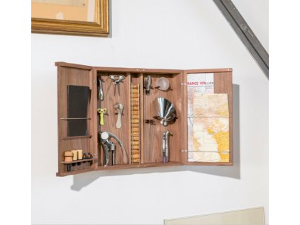 Atelier du Vin Skříňka Cabinet d'Oeno-Curiosités