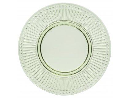 Casa Alegre Campania Zelený dezertní talíř