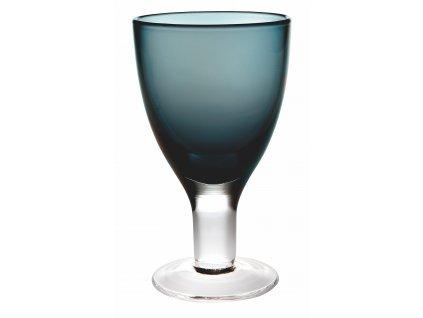 Casa Alegre Cheerful Tmavě modrá sklenice na víno