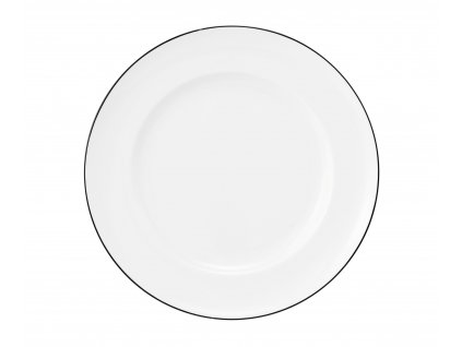 Königlich Tettau Classique Noir Pečivový talíř 20 cm