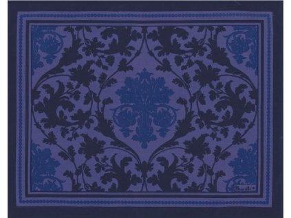 Beauvillé Toscane modrá prostírka 38x48 cm