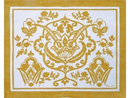 Saint-Tropez žlutá prostírka 40x50 cm, Beauvillé