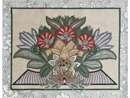 Versailles šedá prostírka 38x48 cm, Beauvillé