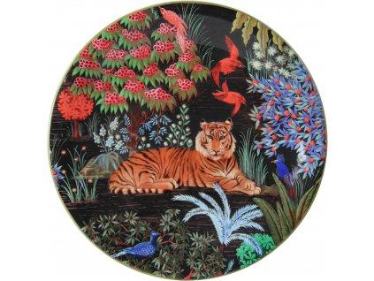 1853ADE402 Assiette dessert Tigre