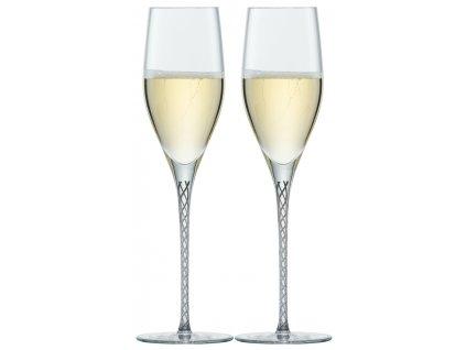 Zwiesel Glas Spirit Graphite Sklenice na Champagne, 2 kusy