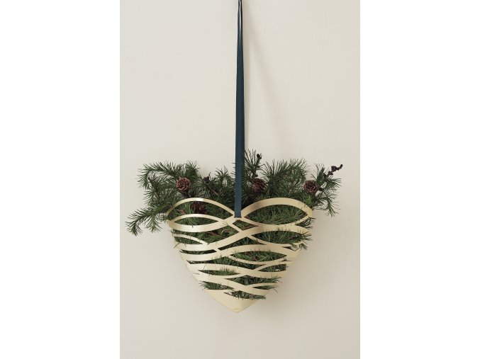LS Stelton Christmas Tangel heart door ornament