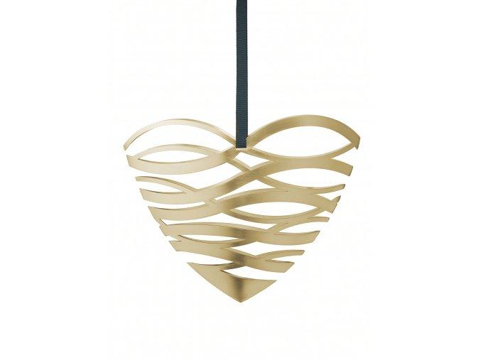 OL 10200 Tangle heart door ornament large