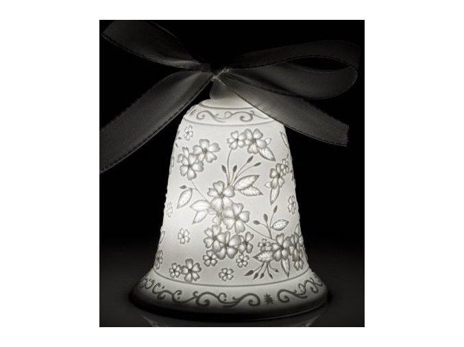 Pasqua Zvonek s LED osvětlením 9 cm Transparenze, Lamart