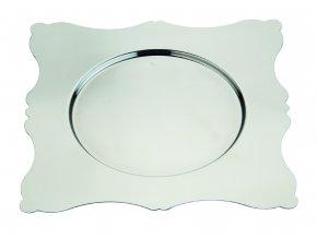 Dolce Vita Čtvercový podkladový talíř 32x32 cm, Mepra