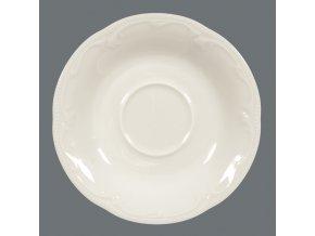 Rubin Cream Uni Kávový / čajový podšálek 14.5 cm, Seltmann Weiden