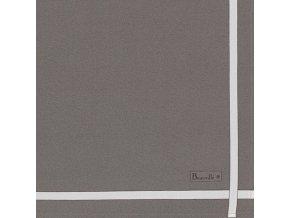 Bicolore béžový ubrousek 52x52 cm, Beauvillé