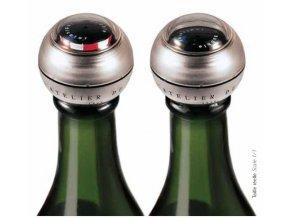Zátka na šampaňské víno s indikátorem bublin, Atelier du Vin