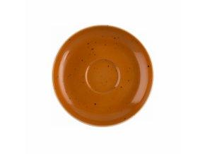 Country Life Terracotta Cappuccino podšálek, Seltmann Weiden