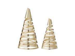 NEWS OL 10221 Tangle Christmas trees M L 2pcs brass