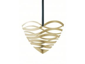 OL 10200 Tangle heart door ornament large