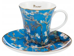 Espresso šálek Van Gogh Mandlový strom, Goebel