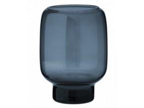 Hoop Midnight Blue Malá váza 14 cm, Stelton