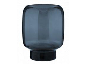 Hoop Midnight Blue Střední váza 18 cm, Stelton