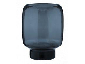 Hoop Midnight Blue Velká váza 20 cm, Stelton