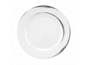 Paso Grey Brush Kulatý pečivový talíř 20 cm, Seltmann Weiden