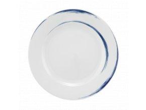 Paso Blue Brush Kulatý pečivový talíř 20 cm, Seltmann Weiden